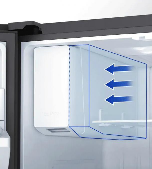 Mehr Raum und mehr Eis mit einer eleganten Eiswürfelmaschine - Ice Max