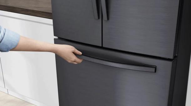 Super komfortable Öffnung - EZ-Open™ Griff