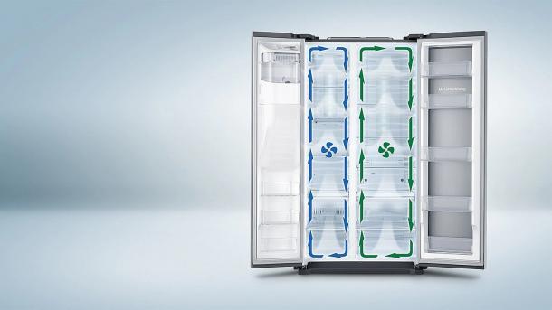 Twin Cooling+ - Ideale Lagerbedingungen. Bis zu 2 Mal länger frisch.