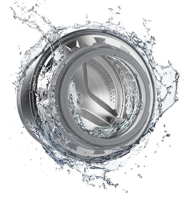 Hygienisch rein - ohne Chemikalien - Trommelreinigung