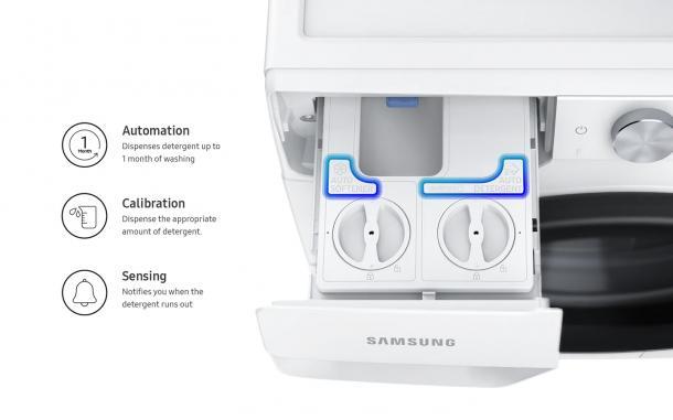 Optimierte Dosierung für umweltschonendes Waschen - Automatische Waschmittel- und Weichspülerdosierung