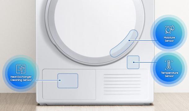 Sensorgesteuertes Trocknen für weniger Energieverbrauch - Optimal Dry