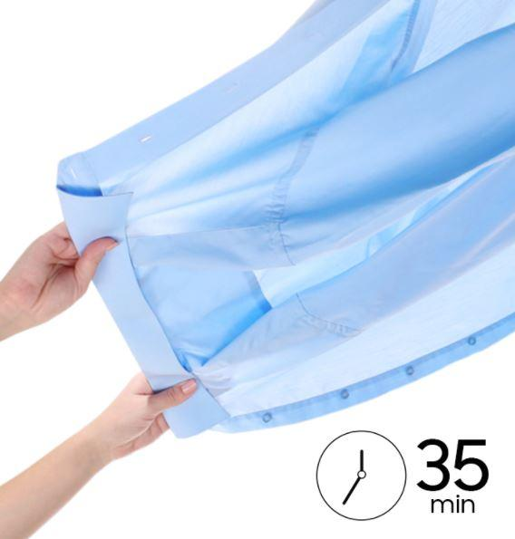 Trockne 3 Hemden in nur 35 Minuten - Super Kurz ´35