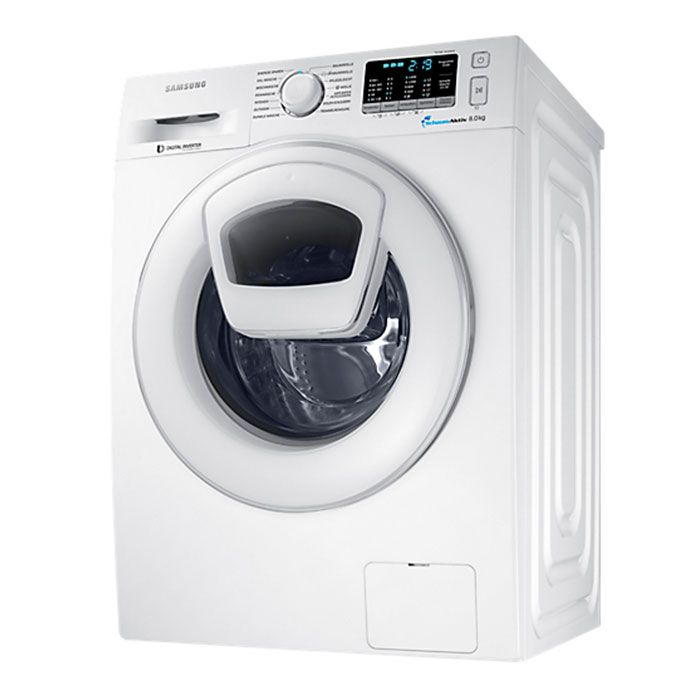 Relativ Samsung Waschmaschine WW 80K5400WW/EG Energieeffizienzklasse A+++ TQ55