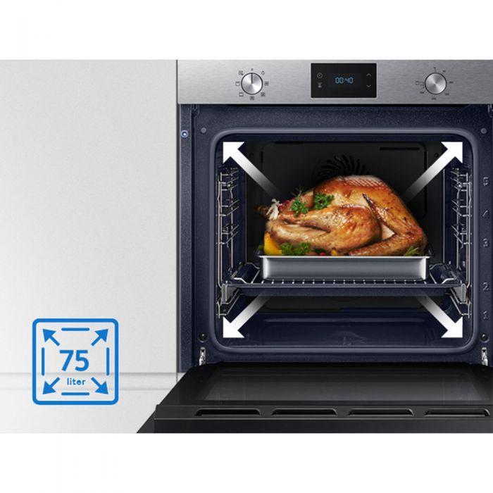 Fabulous Samsung Einbau-Backofen NV 75N5671RS/EG Energieeffizienzklasse A+ WU35